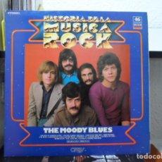 Discos de vinilo: *** THE MOODY BLUES - HISTORIA DE LA MÚSICA ROCK - LP 1982 - LEER DESCRIPCIÓN. Lote 103810847