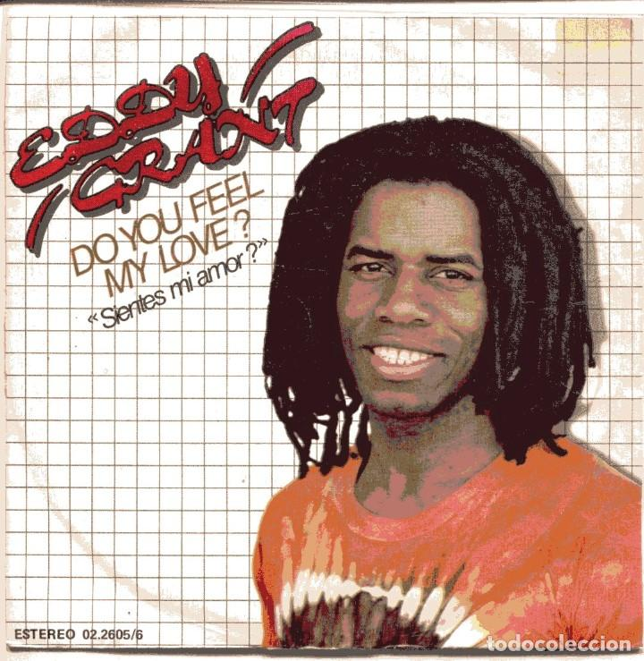 EDDY GRANT / SIENTES MI AMOR? + 1 (SINGLE PROMO 1981) (Música - Discos - Singles Vinilo - Reggae - Ska)