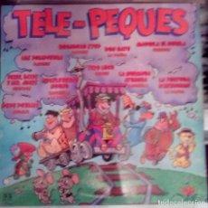Discos de vinilo: TELE PEQUES - DON GATO, MAGUILA EL GORILA, PIXIE Y DIXIE... LP BELTER 1981. Lote 103817987