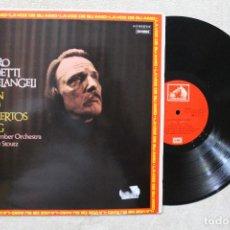 Discos de vinilo: ARTURO BENEDETTI MICHELANGELI LP VINYL MADE IN SPAIN 1976. Lote 103821379