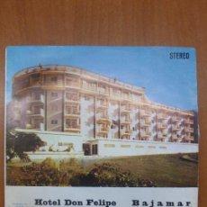Discos de vinilo: ORQUESTA ANTONIO LATORRE -HOTEL DON FELIPE + 3 -EP 1976 // SPANISH FUNK GROOVE// BUEN ESTADO. Lote 103822067