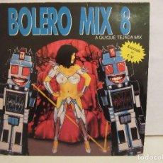 Discos de vinilo: BOLERO MIX 8 - CHIMO BAYO, K.L.F....- 2 X LP - GATEFOLD - 1991 - SPAIN - NM+/EX-. Lote 103827395