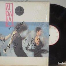Discos de vinilo: LP AIDALAI MECANO FIRMADO POR NACHO CANO - MECANO AUTOGRAFO LP BMG 1991. Lote 103828923