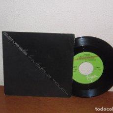 Discos de vinilo: GENESIS 7´´ MEGA RARE VINTAGE PROMO SPAIN 1986. Lote 103830007