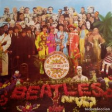 Discos de vinilo: THE BEATLES- SGT. PEPPERS- LP SPAIN 1987 - REF. EMI 06410 41771- LABEL GRIS- NEAR MINT.. Lote 103830431