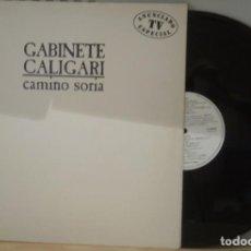 Discos de vinilo: LPCAMINO SORIA - GABINETE CALIGARI LPEMI 1987. Lote 103831295