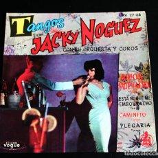 Discos de vinilo: JACKY NOGUEZ. TANGOS.. Lote 103831679