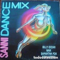 Discos de vinilo: SANNI DANCE MIX - MEGAMIX - MAXI-SINGLE PROMO SANNI RECORDS 1986. Lote 103834915