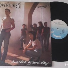 Discos de vinilo: THE ADVENTURES - ANOTHER SILENT DAY - MAXI. Lote 103836603