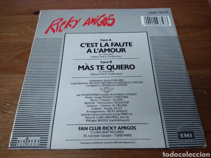 Discos de vinilo: Ricky Amigos - Cest la faute a lamour - - Foto 2 - 103844542
