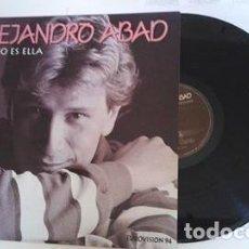 Discos de vinilo: EUROVISIÓN 1994..ALEJANDRO ABAD .- LP-1994 ELLA NO ES ELLA + TU MANANTIAL + OTRAS. Lote 103846715