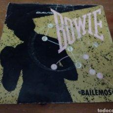 Discos de vinilo: DAVID BOWIE - BAILEMOS - LET'S DANCE -. Lote 103847275