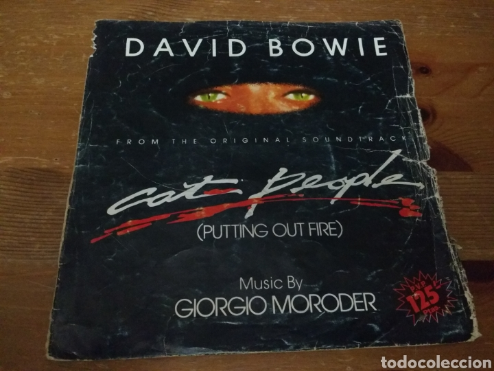 DAVID BOWIE - PUTTING OUT FIRE - (Música - Discos de Vinilo - Singles - Pop - Rock Extranjero de los 80)