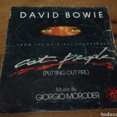 Discos de vinilo: DAVID BOWIE - PUTTING OUT FIRE -. Lote 103847571