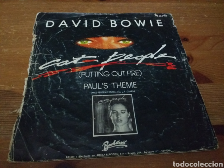 Discos de vinilo: David Bowie - Putting out fire - - Foto 2 - 103847571