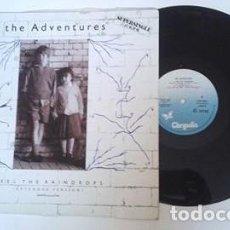 Discos de vinilo: THE ADVENTURES - FEEL THE RAINDROPS (EXTENDED) / NOWHERE NEAR ME / TRISTESSE EN VITESSE (MAXI 1985). Lote 103847927
