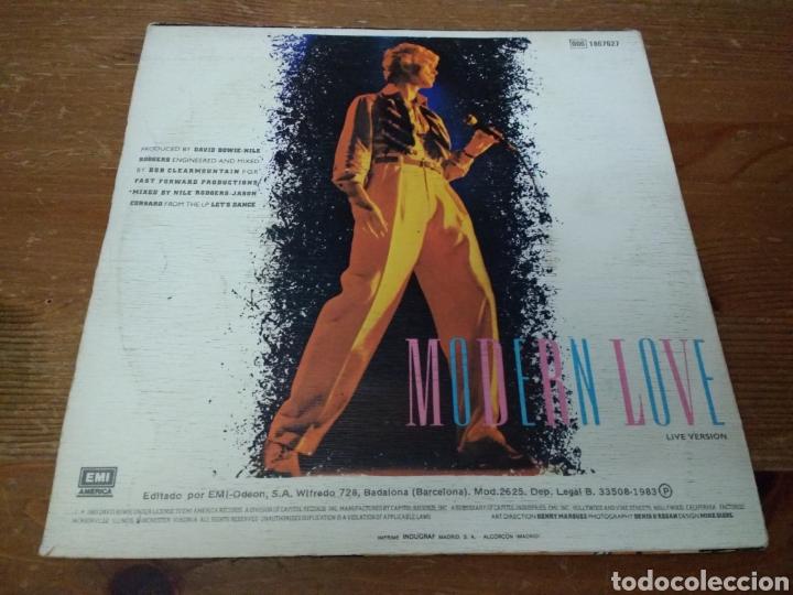 Discos de vinilo: David Bowie - Modern Love - - Foto 2 - 103848222