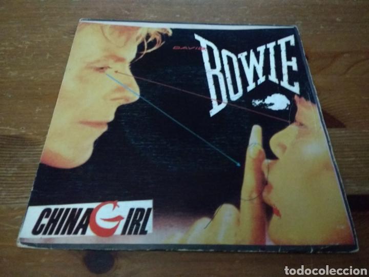 DAVID BOWIE - CHINA GIRL - (Música - Discos de Vinilo - Singles - Pop - Rock Extranjero de los 80)