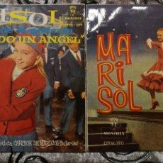 Discos de vinilo: MARISOL 2 EP ESTANDO CONTIGO +3 Y YO SOY UN HOMBRE DEL CAMPO +3. Lote 103848496