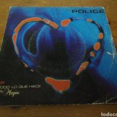 Discos de vinilo: THE POLICE - TODO LO QUE HACE ES MÁGICO -. Lote 103850402