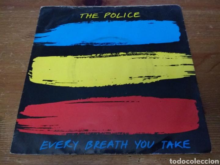 THE POLICE - EVERY BREATH YOU TAKE - (Música - Discos de Vinilo - Singles - Pop - Rock Extranjero de los 80)