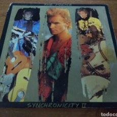 Discos de vinilo: THE POLICE - SYNCHRONICITY II -. Lote 103851240