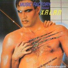 Discos de vinilo: XALAN, SOLO ME MUEVO POR DINERO, MAXISINGLE GERMANY 1984 - PORTADA DOBLE . Lote 103858483