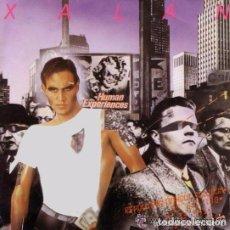 Discos de vinilo: XALAN - HUMAN EXPERIENCES - MAXI-SINGLE BLANCO Y NEGRO 1987. Lote 103858611
