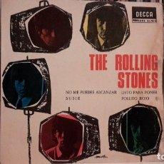 Discos de vinilo: ROLLING STONES - NO ME PUEDES ALCANZAR. Lote 103858903