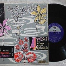 Discos de vinilo: PEDRO ELIAS GUTIERREZ 4 VALSES LP VINILO MADE IN VENEZUELA. Lote 103859179