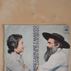 Discos de vinilo: JORGE CAFRUNE Y MARITO.... Lote 103864311