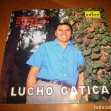 Discos de vinilo: EP : LUCHO GATICA : PERDONAME MI VIDA + 3 ED SPAIN EX. Lote 103864379