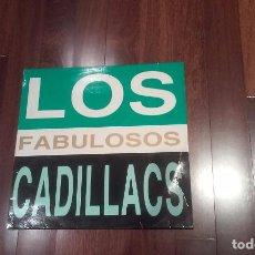 Discos de vinilo: LOS FABULOSOS CADILLACS-GITANA.MAXI PROMO ESPAÑA. Lote 103865935
