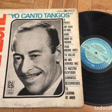 Discos de vinilo: DISCO VINILO GOYENECHE YO CANTO TANGOS CAMDEN . Lote 103866695