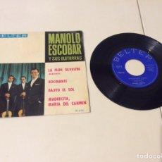 Discos de vinilo: VINILO DISCO SINGLE - MANOLO ESCOBAR Y SUS GUITARRAS. Lote 103852343