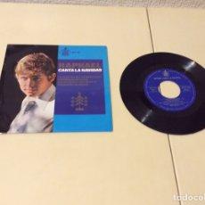 Discos de vinilo: VINILO DISCO SINGLE - RAPHAEL CANTA LA,NAVIDAD. Lote 103853459