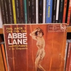 Discos de vinilo: EP ** ABBE LANE ** PAN, AMOR Y CHA CHA CHA ** COVER/ VERY GOOD (VG)* EP/ VERY GOOD+ / EXCELLENT*1958. Lote 103867599