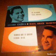 Discos de vinilo: EP : LUCHO GATICA : EL BARDO + 3. Lote 103868867