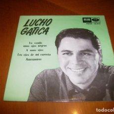 Discos de vinilo: EP : LUCHO GATICA : YO VENDO + 3 EX. Lote 103869059
