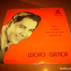 Discos de vinilo: EP : LUCHO GATICA : TOTAL + 3 EX. Lote 103869627