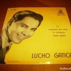 Discos de vinilo: EP : LUCHO GATICA : YO + 3 EX. Lote 103870171