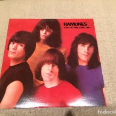 Discos de vinilo: RAMONES -END OF THE CENTURY- (1980) LP DISCO VINILO. Lote 103870931