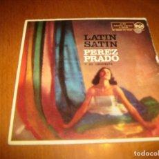 Discos de vinilo: EP : PEREZ PRADO : PERFIDIA + 3 EX. Lote 103872043
