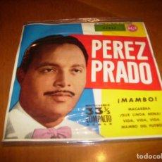 Discos de vinilo: EP : PEREZ PRADO : MACARENA + 3 EX. Lote 103872239