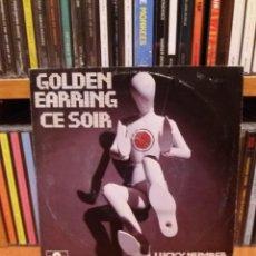 Discos de vinilo: SINGLE ** GOLDEN EARRING ** CE SOIR ** COVER/ EXCELLENT (EX) ** SINGLE/ NEAR MINT (NM) ** 1975. Lote 103874159