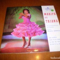 Discos de vinilo: EP : MARIFE DE TRIANA : LOLA ALEGRIAS + 3. Lote 103876795