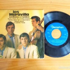 Discos de vinilo: SINGLE VINILO 'LOS MARAVILLA - SEVILLANAS Y RUMBAS'.. Lote 103883447