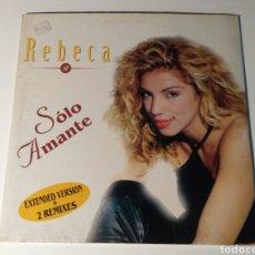 Discos de vinilo: REBECA- SOLO AMANTE. Lote 103900926