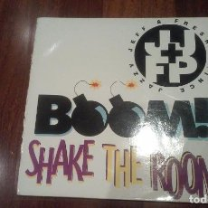 Discos de vinilo: JAZZY JEFF & FRESH PRINCE-BOOM !SHAKE THE ROOM.MAXI ESPAÑA. Lote 103915047