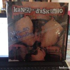 Discos de vinilo: KANZER D'ESKROTO - MUNDO INMUNDO LP ED. LIM. 500 COPIAS NUMERADAS Nº 093. PRECINTADO. Lote 103917807